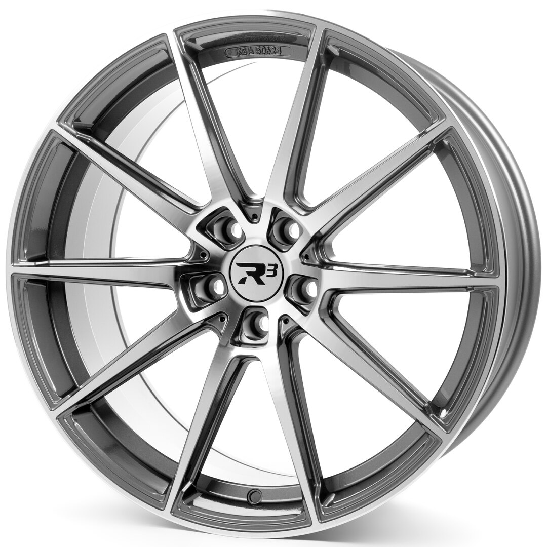 R³ Wheels R3H03 anthracite-polished