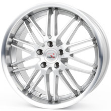 RStyle Wheels SR10 silver horn polished