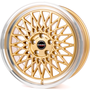 gold rim polished