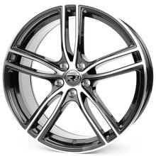 R³ Wheels R3H01 black-polished